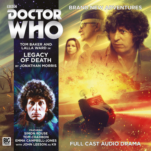 Doctor Who: 4th Doctor (Tom Baker) Stories: #5.4 LEGACY OF DEATH -  A Big Finish Audio Drama on CD