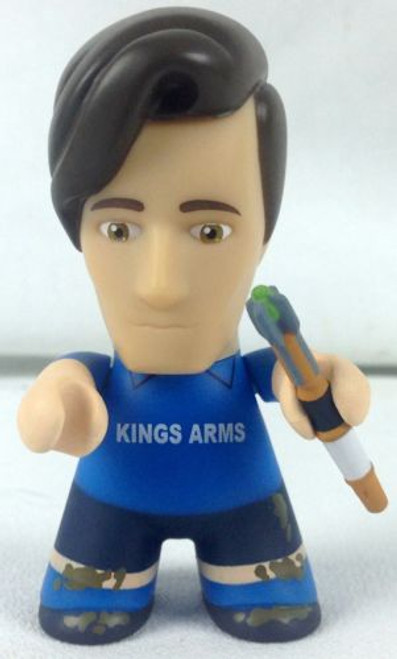 Doctor Who 11th Doctor Playing Football Titan Vinyl Figure - NYCC 2015 Exclusive