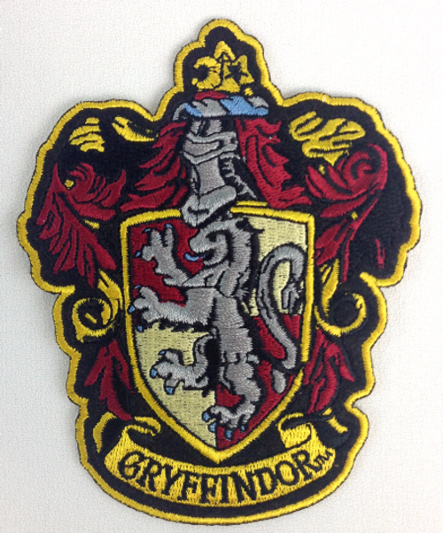 Harry Potter: House of GRYFFINDOR - Full Size Iron On Patch