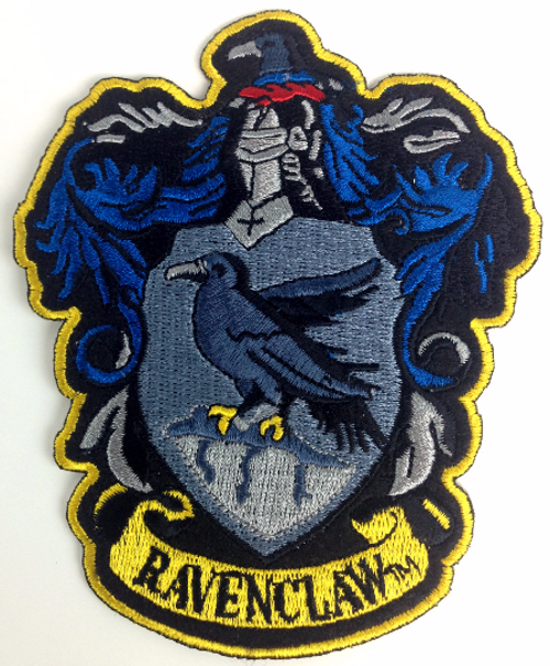 Harry Potter: House of RAVENCLAW - Full Size Iron On Patch
