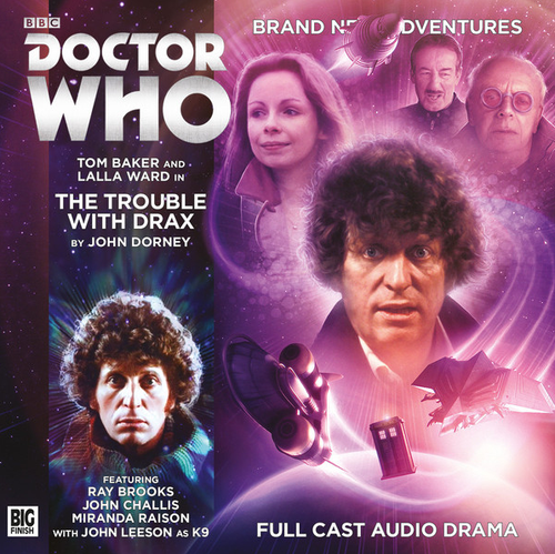 Doctor Who: 4th Doctor (Tom Baker) Stories: #5.6 The TROUBLE WITH DRAX -  A Big Finish Audio Drama on CD