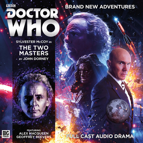 Doctor Who: THE TWO MASTERS - Big Finish 7th Doctor Audio CD #213