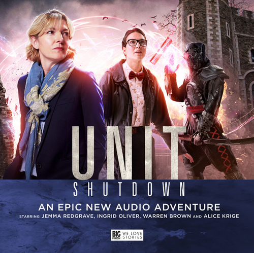 UNIT #2: SHUTDOWN - Big Finish Doctor Who Series Audio CD Boxed Set