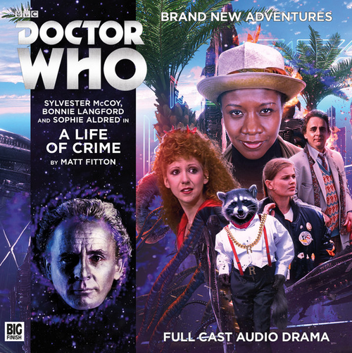 Doctor Who: A LIFE OF CRIME - Big Finish 7th Doctor Audio CD #214