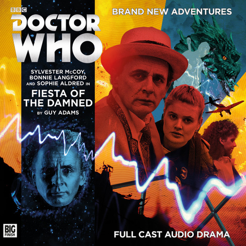 Doctor Who: FIESTA OF THE DAMNED - Big Finish 7th Doctor Audio CD #215