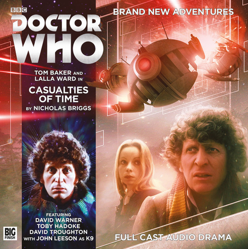 Doctor Who: 4th Doctor (Tom Baker) Stories: #5.8 CASUALTIES OF TIME -  A Big Finish Audio Drama on CD