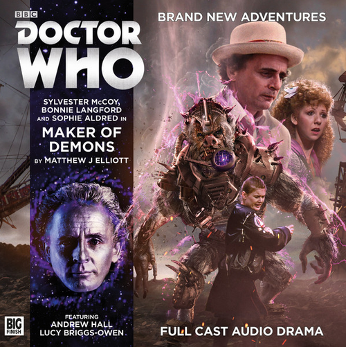 Doctor Who: MAKER OF DEMONS - Big Finish 7th Doctor Audio CD #216