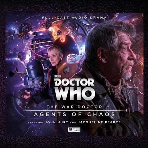 The War Doctor (John Hurt) Vol. 3: AGENTS OF CHAOS - Big Finish Audio Drama CD Boxed Set