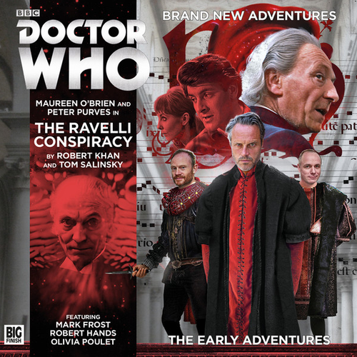 Doctor Who: The Early Adventures #3.3 - The RAVELLI CONSPIRACY - Big Finish Audio CD