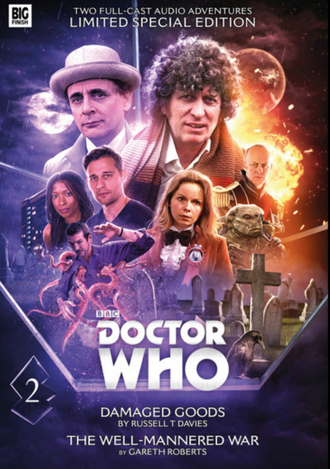 Doctor Who - Novel Adaptations Audio Limited Deluxe Set from Big Finish - Volume 2