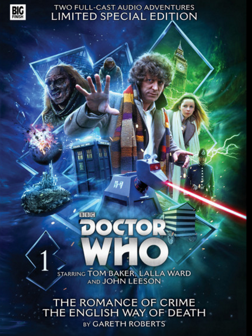 Doctor Who - Novel Adaptations Audio Limited Deluxe Set from Big Finish - Volume 1