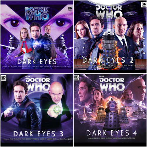 Doctor Who DARK EYES Eighth Doctor (Paul McGann) Audio Drama Boxed ALL 4 SETS from Big Finish