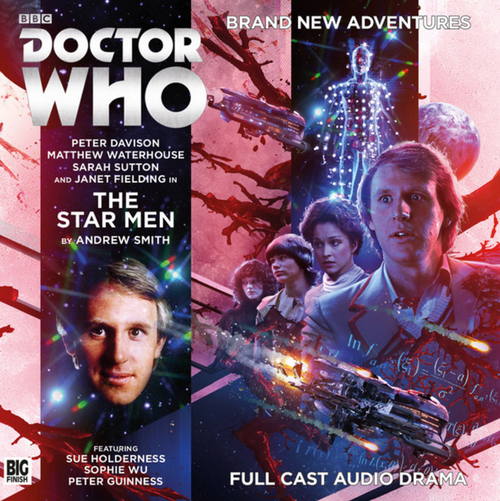 Doctor Who: THE STAR MEN - Big Finish 5th Doctor Audio CD #221