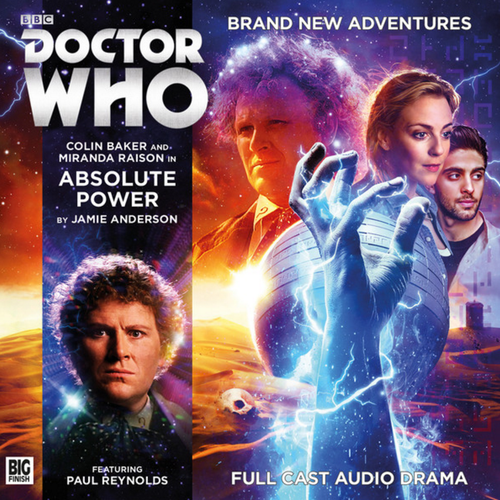 Doctor Who: ABSOLUTE POWER - Big Finish 6th Doctor Audio CD #219