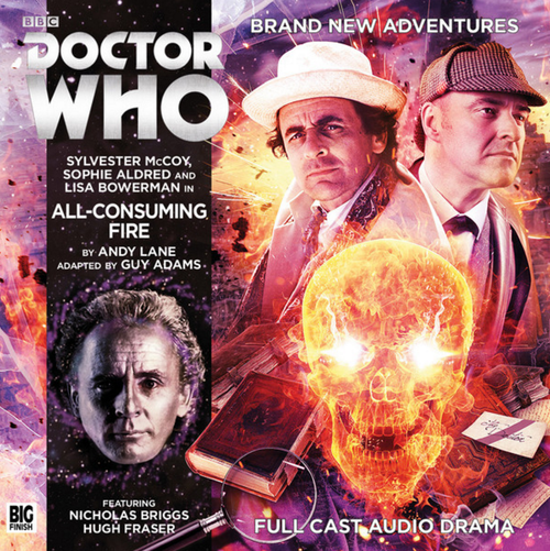 Doctor Who Novel Adaptation: ALL-CONSUMING FIRE - Big Finish Audio CD #8
