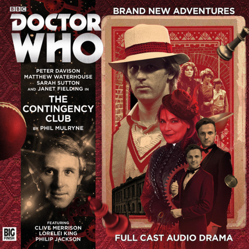 Doctor Who: THE CONTINGENCY CLUB - Big Finish 5th Doctor Audio CD #222