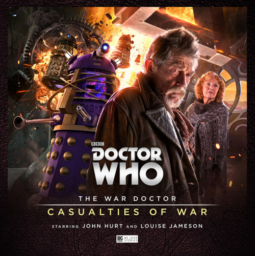 Doctor Who: The War Doctor (John Hurt) Vol. 4: CASUALTIES OF WAR - Big Finish Audio Drama CD Boxed Set