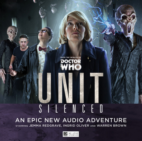 UNIT #3: SILENCED - Big Finish Doctor Who Audio CD Boxed Set