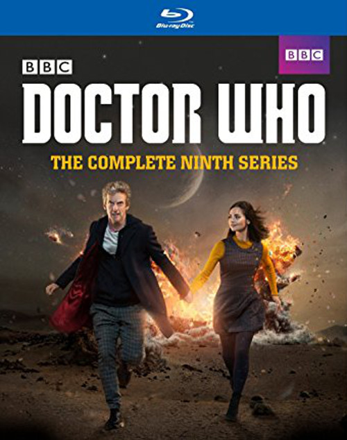 Doctor Who Complete Series 9 - Blu Ray DVD Set - Starring Peter Capaldi as the Doctor
