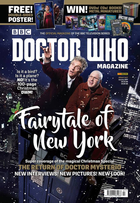 Doctor Who Magazine #507 - 100 Page Christmas Special Issue!