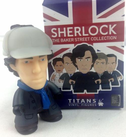 BBC SHERLOCK - Sherlock Holmes in Deerstalker - Titan Vinyl Figure - NYCC 2016 Exclusive
