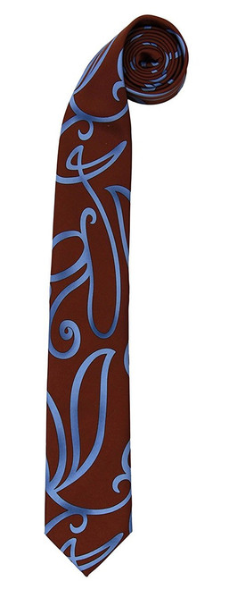 Tenth Doctor Replica Swirl Print Tie