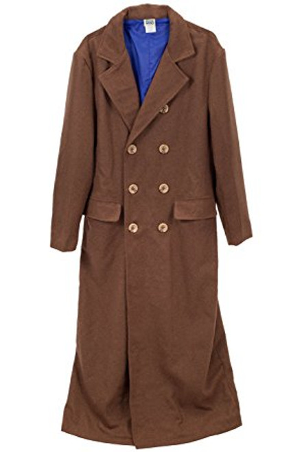 Doctor Who: Tenth Doctor (David Tennant) Men's Long Coat