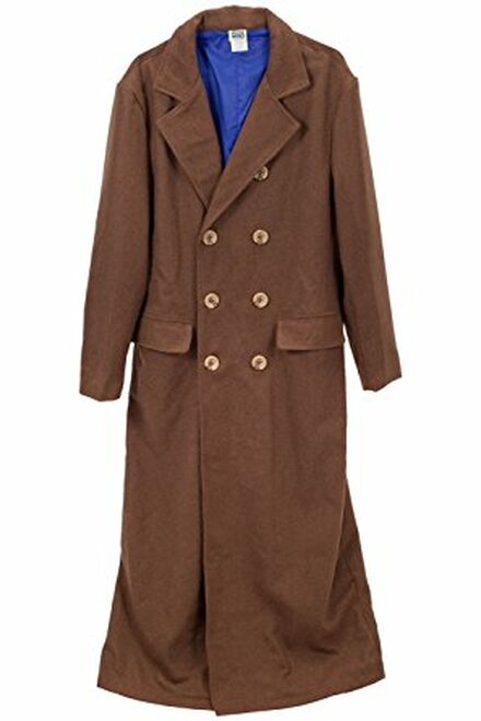 Doctor Who: Tenth Doctor (David Tennant) Men's Long Coat