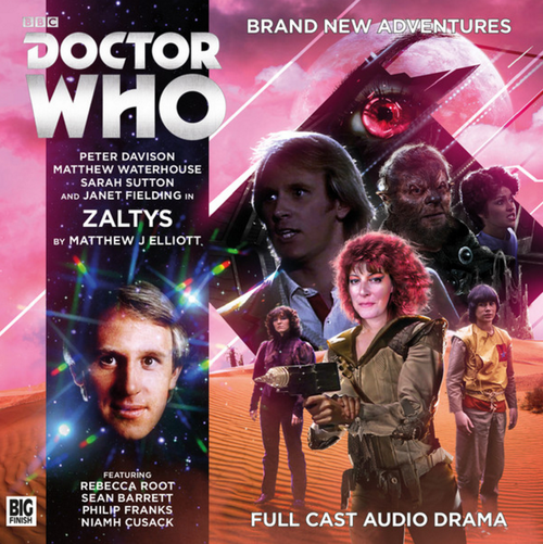 Doctor Who: ZALTYS - Big Finish 5th Doctor Audio CD #223
