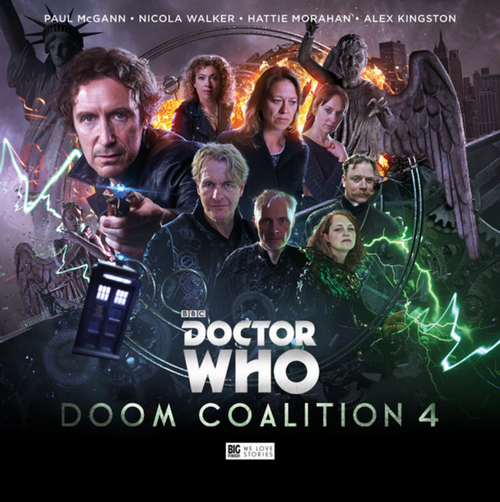 Doctor Who DOOM COALITION #4 Eighth Doctor (Paul McGann) Audio Drama Boxed Set from Big Finish