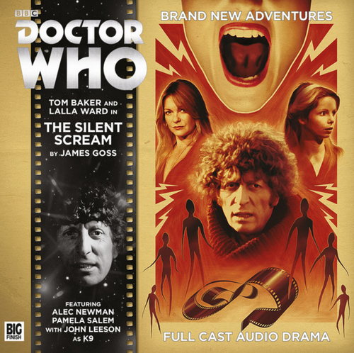 4th Doctor (Tom Baker) Stories: #6.3 The SILENT SCREAM -  A Big Finish Audio Drama on CD
