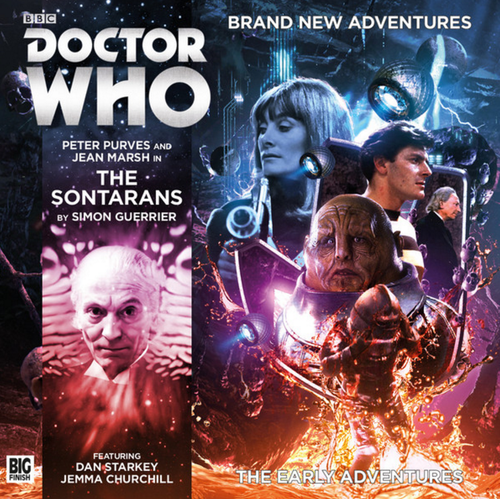 Doctor Who: The Early Adventures #3.4 - The SONTARANS - Big Finish Audio CD