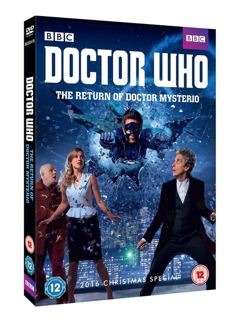 """The Return of Doctor Mysterio"" Doctor Who Christmas Special 2016 DVD  - Starring Peter Capaldi as the Doctor"