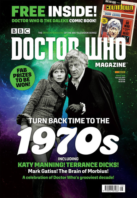 Doctor Who Magazine #508 (Turning Back Time to the 1970's) - FREE Comic Inside!