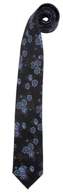 Doctor Who: Tenth Doctor (David Tennant) Replica 50th Anniversary Special Floral Print Tie by Elope