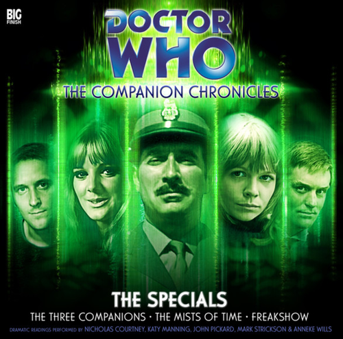 Doctor Who: The Companion Chronicles - The Specials Big Finish Boxed Set
