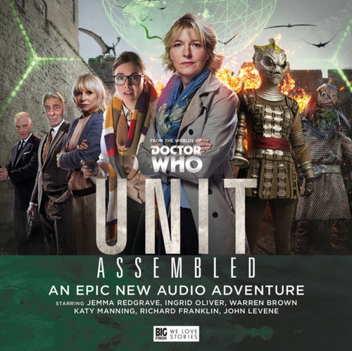 UNIT #4: ASSEMBLED - Big Finish Doctor Who Series Audio CD Boxed Set