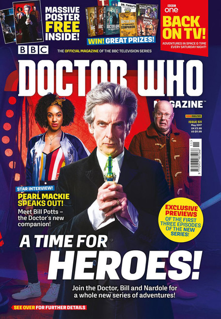 Doctor Who Magazine #511 - Pearl Mackie interview