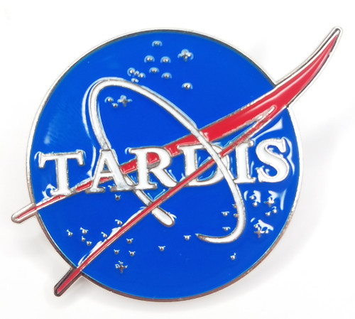 Doctor Who Exclusive Lapel Pin - NASA TARDIS Logo