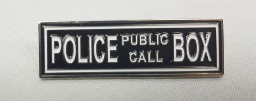 "Doctor Who Exclusive Lapel Pin - ""Police Public Call Box"" Marquee"
