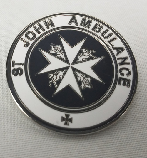 Doctor Who Exclusive Lapel Pin - St. John's Ambulance Emblem