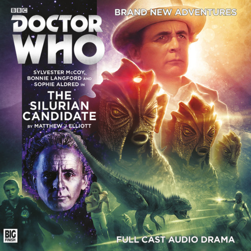 Doctor Who: THE SILURIAN CANDIDATE - Big Finish 7th Doctor Audio CD #229