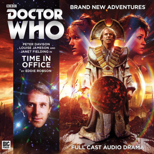 Doctor Who: TIME IN OFFICE - Big Finish 5th Doctor Audio CD #230