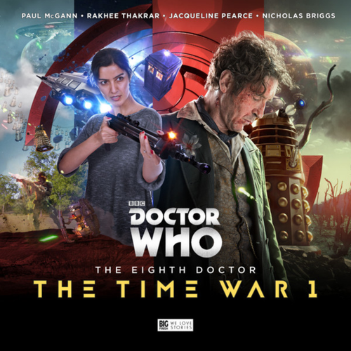 Doctor Who: The TIME WAR 1 - Eighth Doctor (Paul McGann) Big Finish Box Set