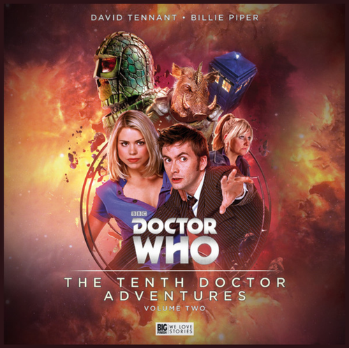 Doctor Who: The Tenth Doctor (David Tennant) Adventures Volume 2 - Limited Edition CD Set