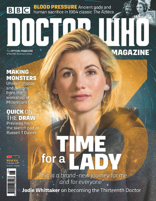 Doctor Who Magazine #516 - First JODIE WHITTAKER cover