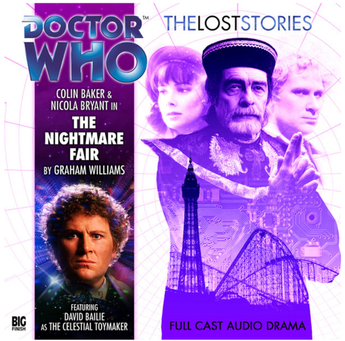 Doctor Who: The NIGHTMARE FAIR - The Lost Stories #1.01 - Big Finish Audio CD