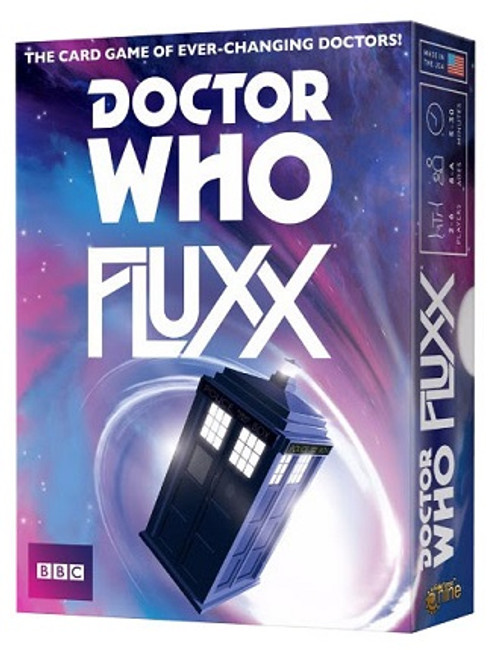 Doctor Who Fluxx Table Top Card Game by Looney Labs
