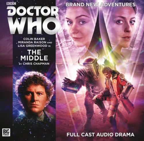 Doctor Who: MIDDLE - Big Finish 6th Doctor Audio CD #232