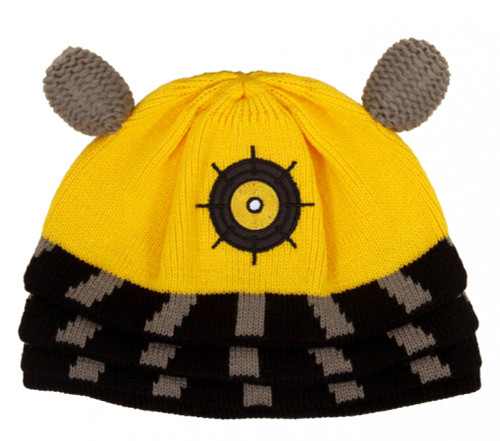 Doctor Who: YELLOW DALEK Beanie Hat